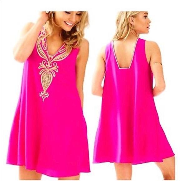0e8c5371bb296f Lilly Pulitzer Dresses & Skirts - Lilly Pulitzer Owen Trapeze Dress - Size  XL